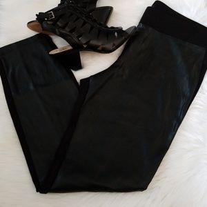 Loft faux leather legging